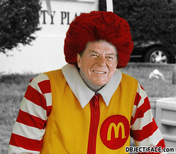 - Ronald Reagan (Ronald McDonald)